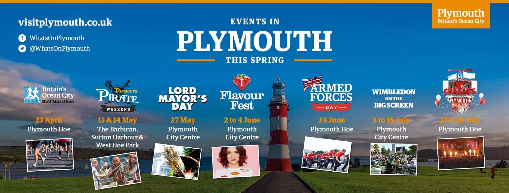 Plymouth Events Summer 2017