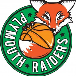 Plymouth Raiders Basketball Team Logo