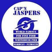 Cap n Jaspers Logo Plymouth Barbican