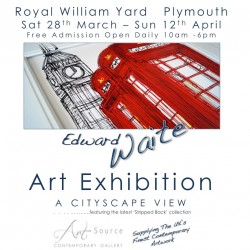 Edward Waite Art Exhibition ONE Royal William Yard