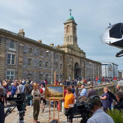 Day out at the Antiques Roadshow in Plymouth - Royal William Yard