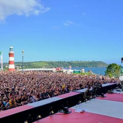 MTV Stage Plymouth Hoe