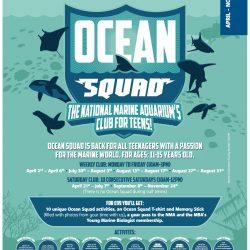 National Marine Aquarium Ocean Squad