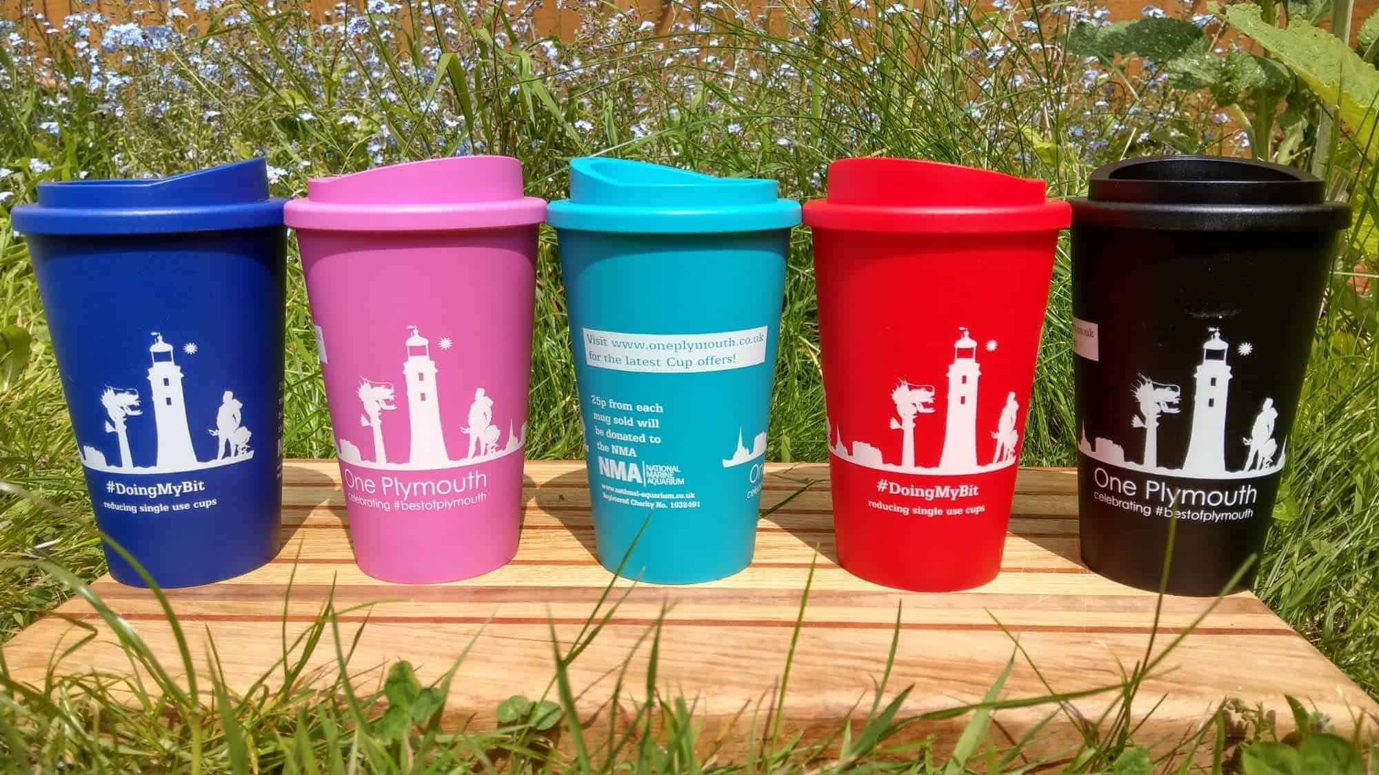 One Plymouth Cup Colour Range