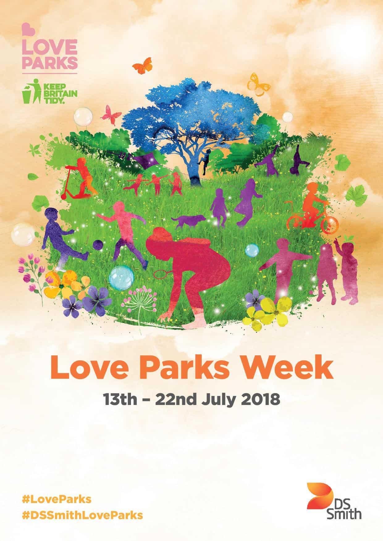 Love Parks Week Poster