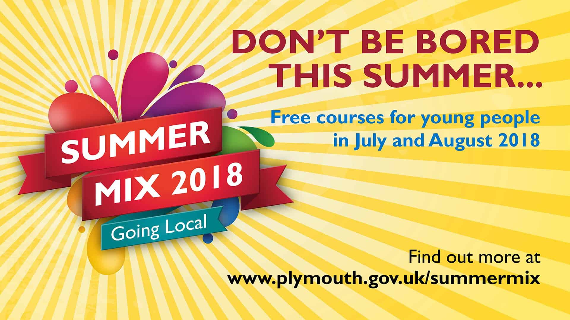 Plymouth Summer Mix 2018 Screens
