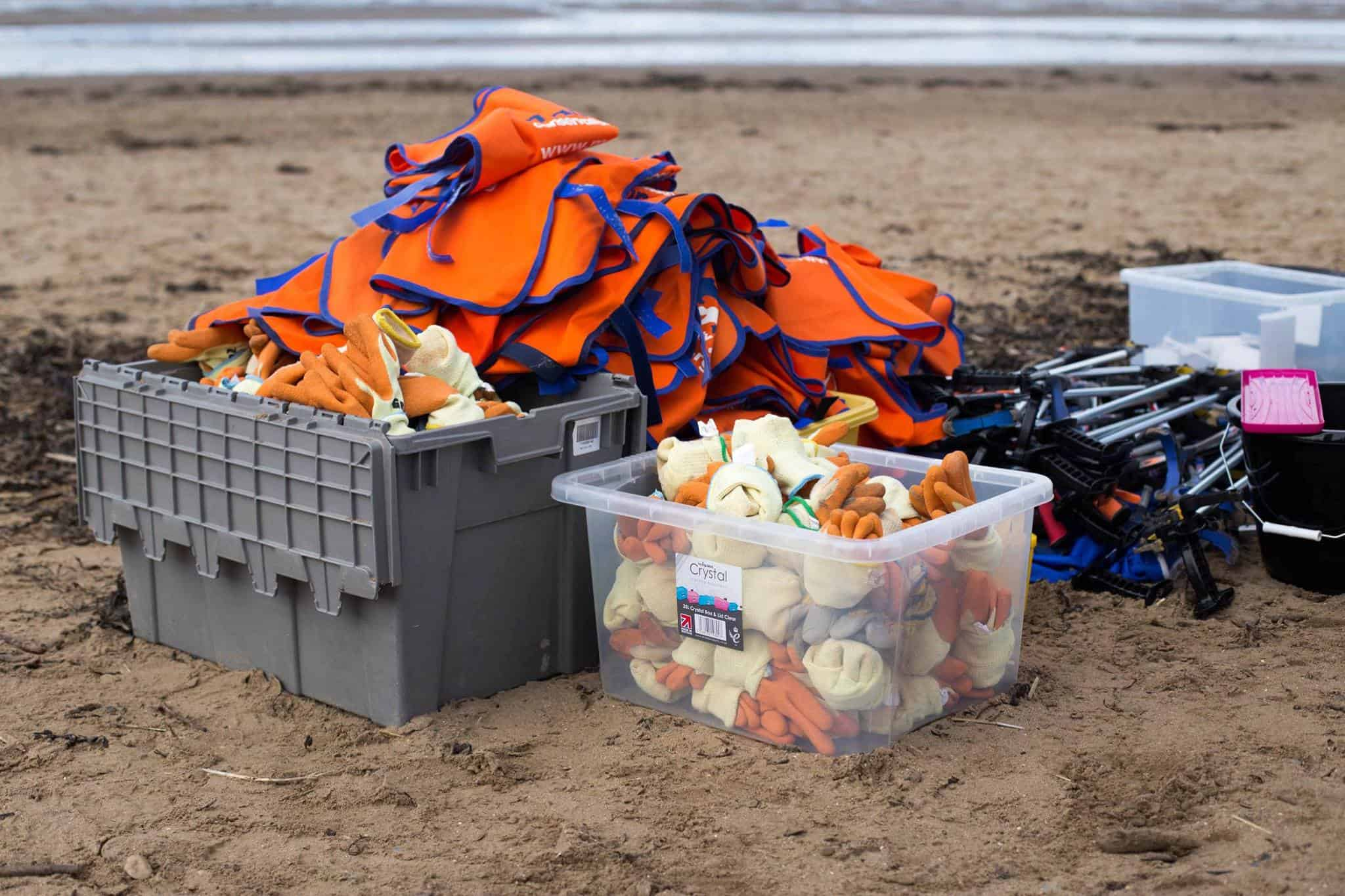 Plymouth Beach Clean - Marine Conservation Society