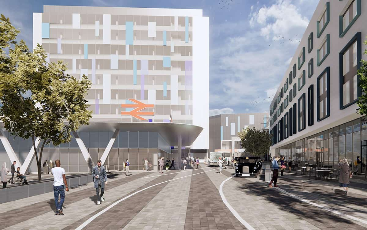 Plymouth Train Station Masterplan